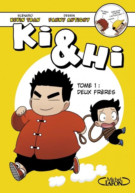 Couverture Ki & Hi, tome 1 : Deux frères
