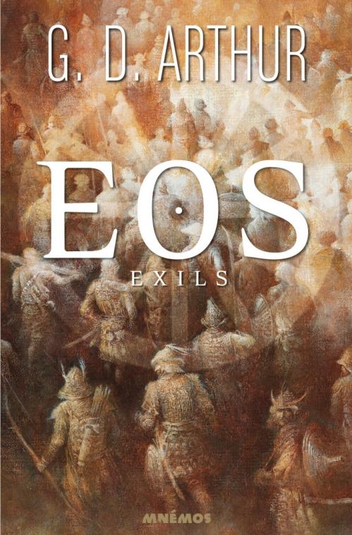 Couverture Eos, tome 2 : Exils