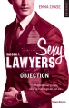 Couverture Sexy lawyers, tome 1 : Objection Editions Hugo & cie (New romance) 2016