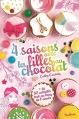 Couverture 4 saisons avec les filles au chocolat Editions Nathan 2016