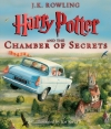 Couverture Harry Potter, illustrée, tome 2 : Harry Potter et la chambre des secrets Editions Scholastic 2016