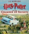 Couverture Harry Potter, illustré, tome 2 : Harry Potter et la chambre des secrets Editions Scholastic 2016