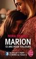 Couverture Marion, 13 ans pour toujours Editions Le Livre de Poche 2015