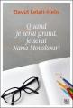 Couverture Quand je serai grand, je serai Nana Mouskouri Editions Anne Carrière (Roman étranger) 2016