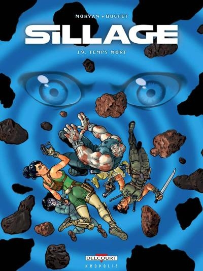 Couverture Sillage, tome 19 : Temps mort