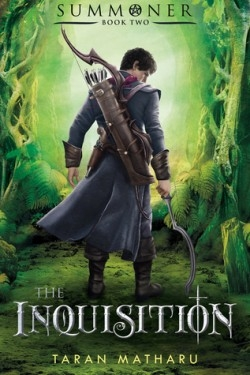 Couverture L'invocateur, tome 2 : L'inquisition
