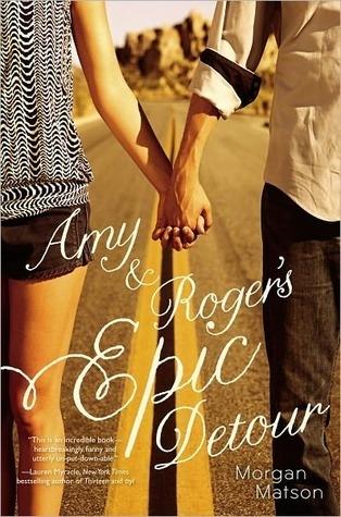 Couverture Amy & Roger's Epic Detour