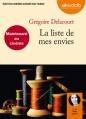 Couverture La Liste de mes envies Editions Audiolib 2012