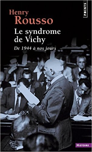 Couverture Le syndrome de Vichy