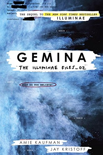 Couverture Illuminae, tome 2