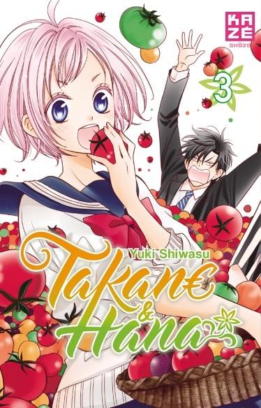 Couverture Takane & Hana, tome 3