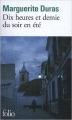 Couverture Dix heures et demie du soir en été Editions Folio  2014