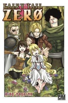 Couverture Fairy Tail Zero