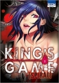 Couverture King's Game Spiral, tome 3 Editions Ki-oon (Seinen) 2016