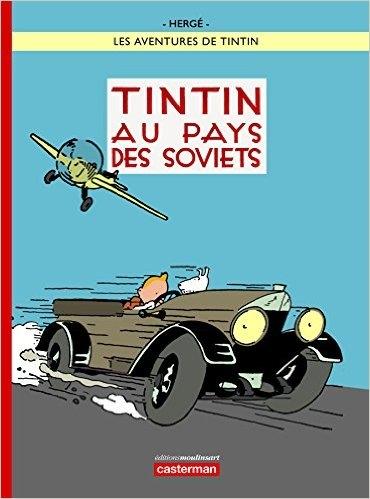 Couverture Les aventures de Tintin, tome 01 : Tintin au pays des soviets