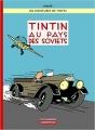 Couverture Les aventures de Tintin, tome 01 : Tintin au pays des soviets Editions Casterman 2017