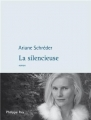 Couverture La silencieuse Editions Philippe Rey 2013