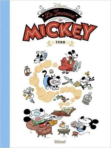 Couverture La jeunesse de Mickey
