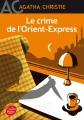 Couverture Le crime de l'orient-express Editions Le Livre de Poche (Jeunesse) 2014