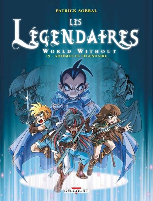 Couverture Les Légendaires, tome 19 : World Without : Artémus le Légendaire