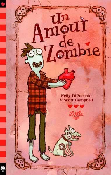 Couverture Un amour de zombie