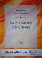 Couverture La Princesse de Clèves Editions Ilivri 2015