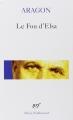 Couverture Les Yeux d'Elsa Editions Gallimard  (Poésie) 2002