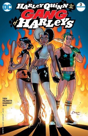 Couverture Harley Quinn & Her Gang of Harleys, book 03