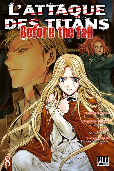 Couverture L'attaque des titans : Before the fall, tome 08