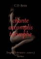 Couverture Songs of submission, tome 3 : Chante, accomplis, triomphe Editions Marabout (Red Velvet) 2016