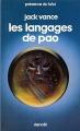 Couverture Les langages de Pao Editions Denoël 1981
