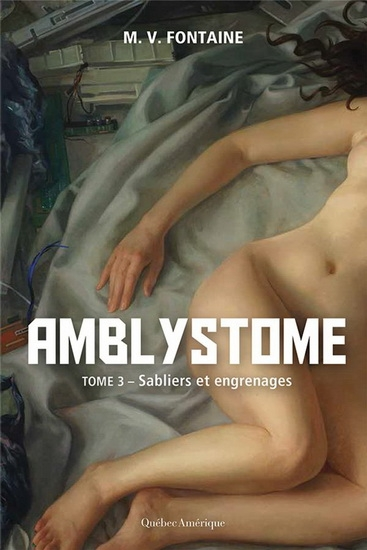 Couverture Amblystome, tome 3 : Sabliers et engrenages