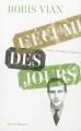 Couverture L'écume des jours Editions Pauvert 2013