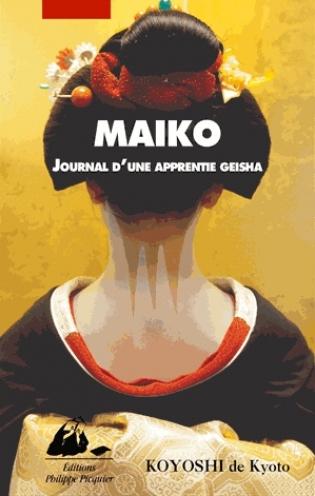 Couverture Maiko : Journal d'une apprentie geisha