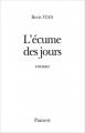Couverture L'écume des jours Editions Pauvert 2008