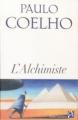 Couverture L'alchimiste Editions Anne Carrière 2007