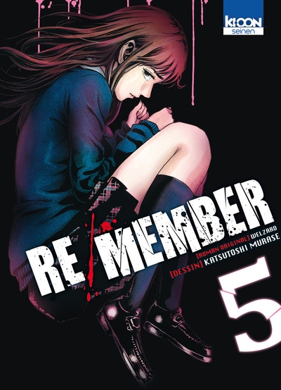 Couverture Re/Member, tome 5