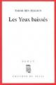 Couverture Les yeux baissés Editions Seuil 1991