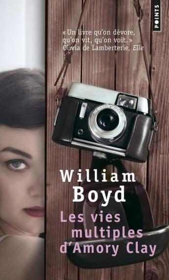 Couverture Les vies multiples d'Amory Clay
