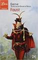 Couverture Faust Editions Librio (Théâtre) 1995