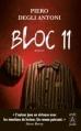 Couverture Bloc 11 Editions L'archipel 2013