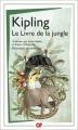 Couverture Le livre de la jungle Editions Flammarion (GF) 2015