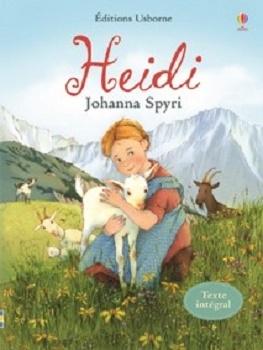 Couverture Heidi /  Heidi, fille de la montagne