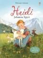 Couverture Heidi /  Heidi, fille de la montagne Editions Usborne 2016