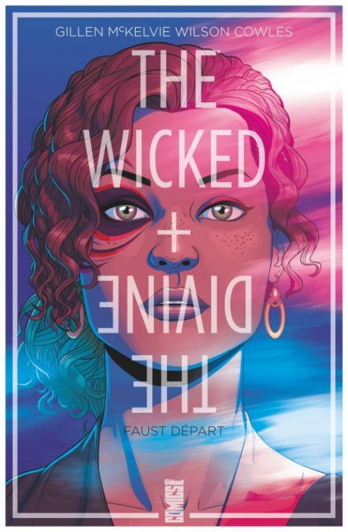 Couverture The wicked + the divine, tome 1 : Faust départ