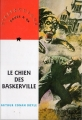 Couverture Sherlock Holmes, tome 5 : Le Chien des Baskerville Editions Nathan (Rouge & Or) 1996