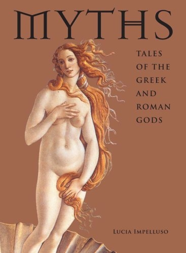 Couverture Myths: Tales of the greek and roman gods