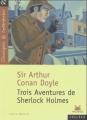 Couverture Trois aventures de Sherlock Holmes Editions Magnard (Classiques & Contemporains) 2003