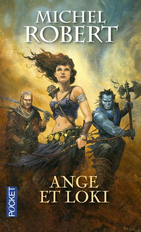 Couverture L'agent des Ombres, tome 8 : Ange et Loki