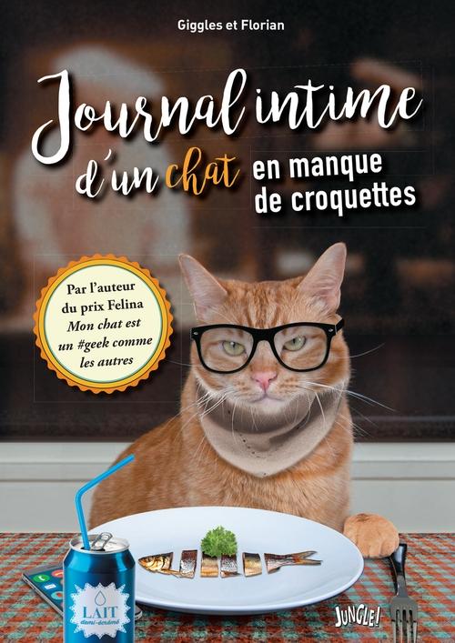 Couverture Journal intime d'un chat en manque de croquettes